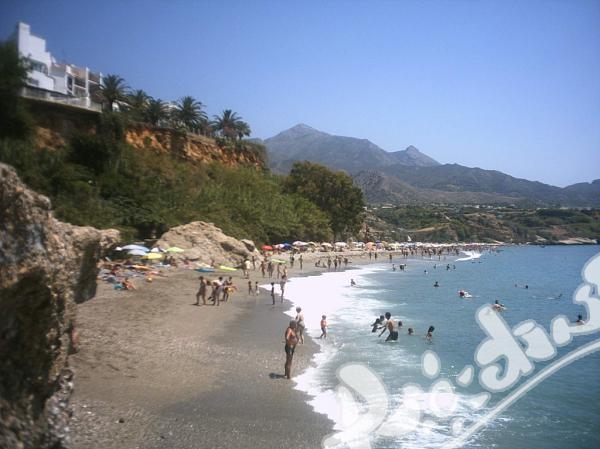 Ваканция + испански език на плажа в Малага