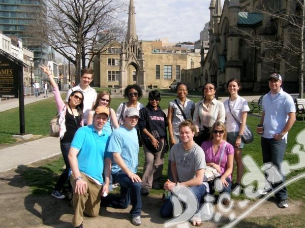 Курс по английски език и много забавление в Торонто
