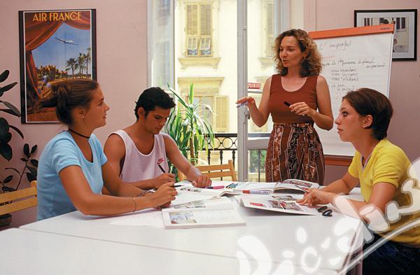 Академична ваканция с курс по френски език в Ница