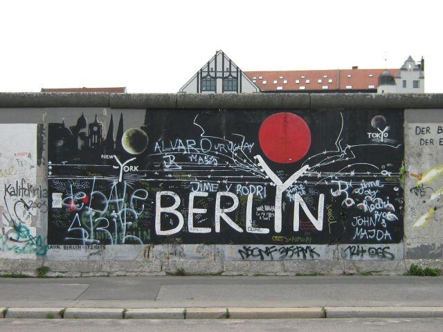 Берлинската стена (Berliner Mauer)