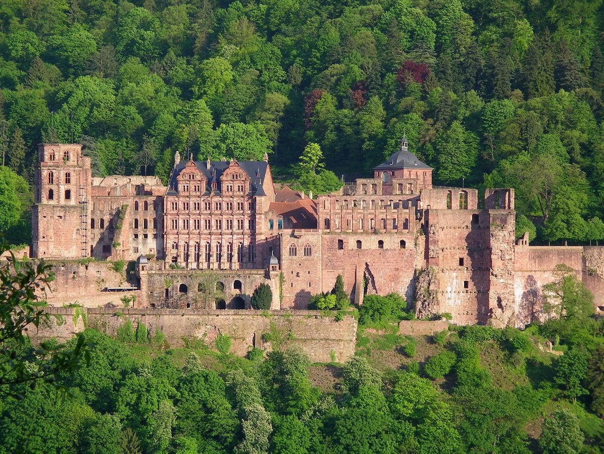 Хайделбергският замък (Schloss Heidelberg)