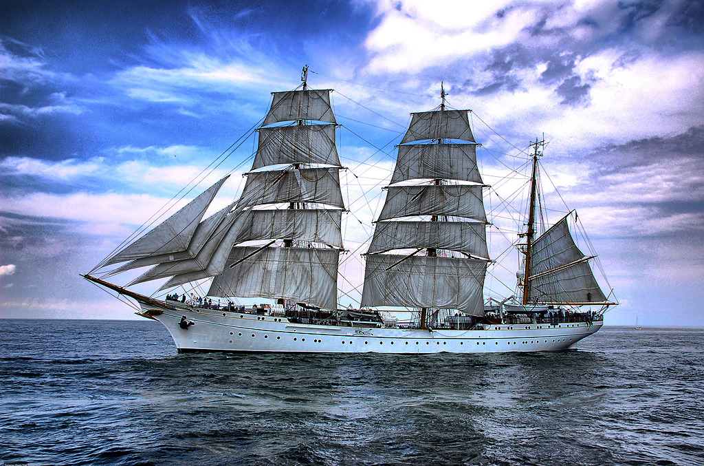 Фестивал на ветроходните кораби Hanse Sail (Рощок)