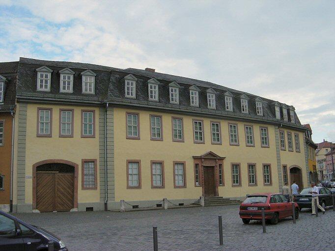 Къщата-музей на Гьоте