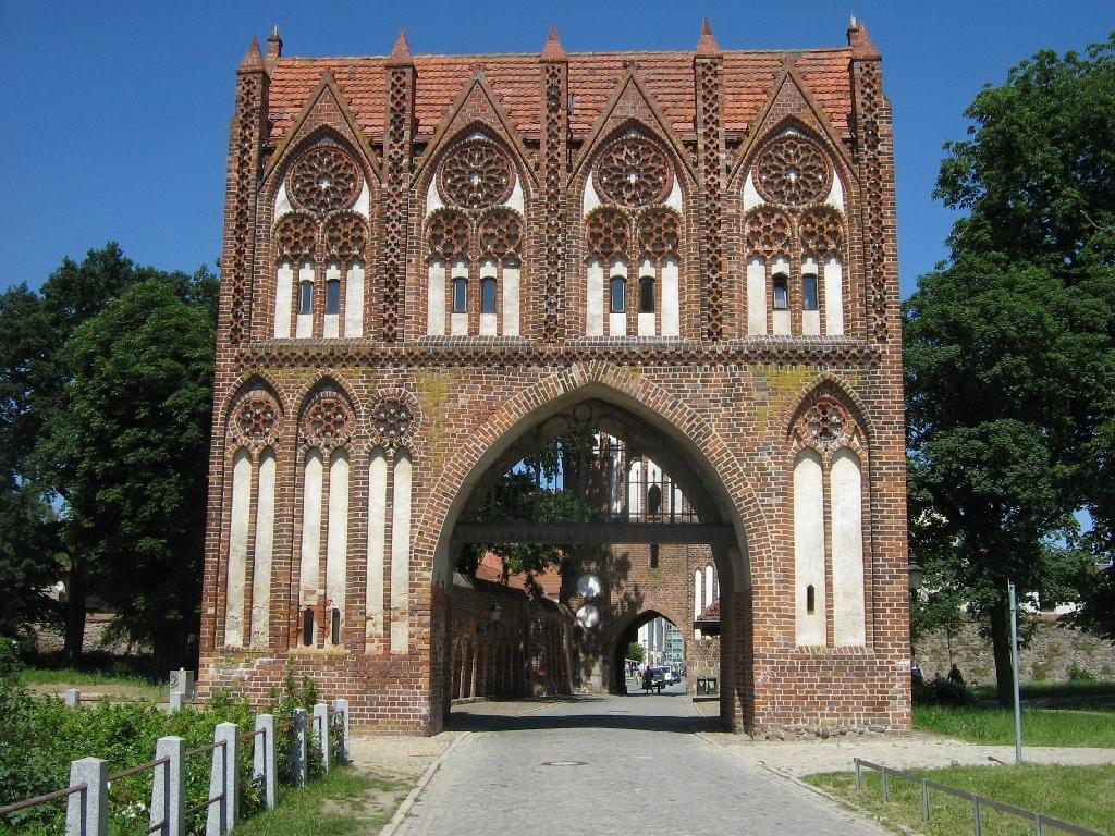 Градските порти на Нойбранденбург
